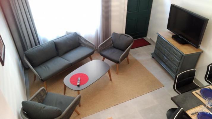 The living room - Petit Crochet Home à Fresnay-sur-Sarthe